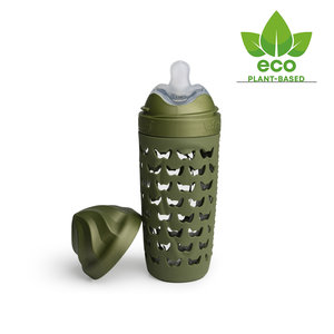 HeroEcoFles 320ml Army Green